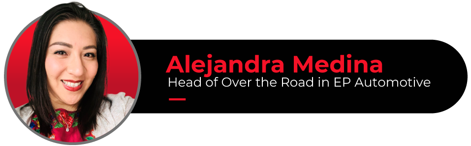 Picture of Alejandra Medina, OTR Leader and author of this article
