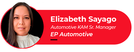 Picture of Elizabeth Sayago, EP America's Automotive KAM Sr. Manager, author of this article