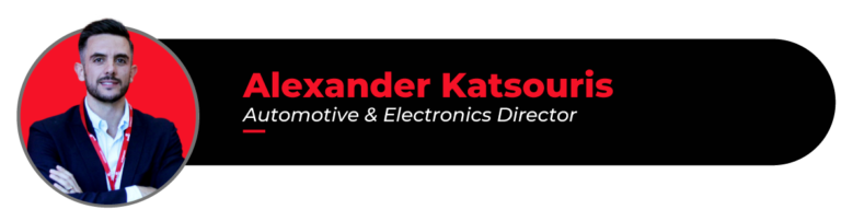 Picture of Alexander Katsouris, ep Automotive & Electronics director